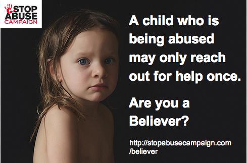 """""""Un enfant abusé ne cherchera peut-être de l'aide qu'une seule fois. Le croirez-vous ?"""""""